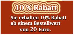10 Rabatt